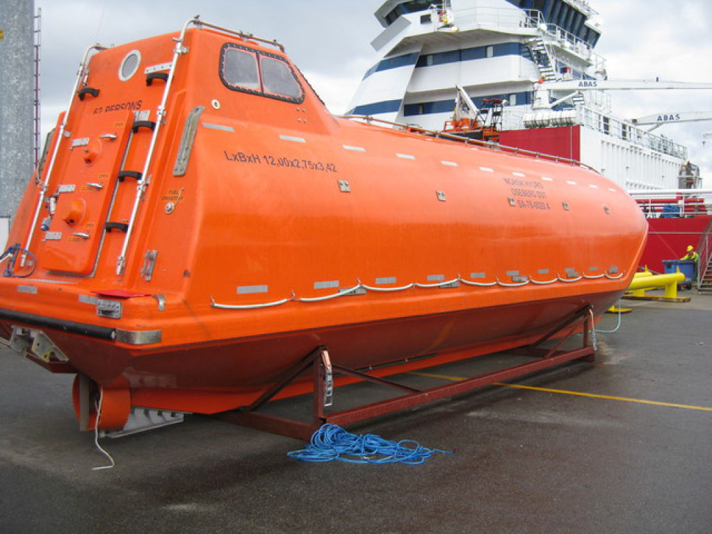 gse 40 free fall lifeboat for sale  retrade offers used
