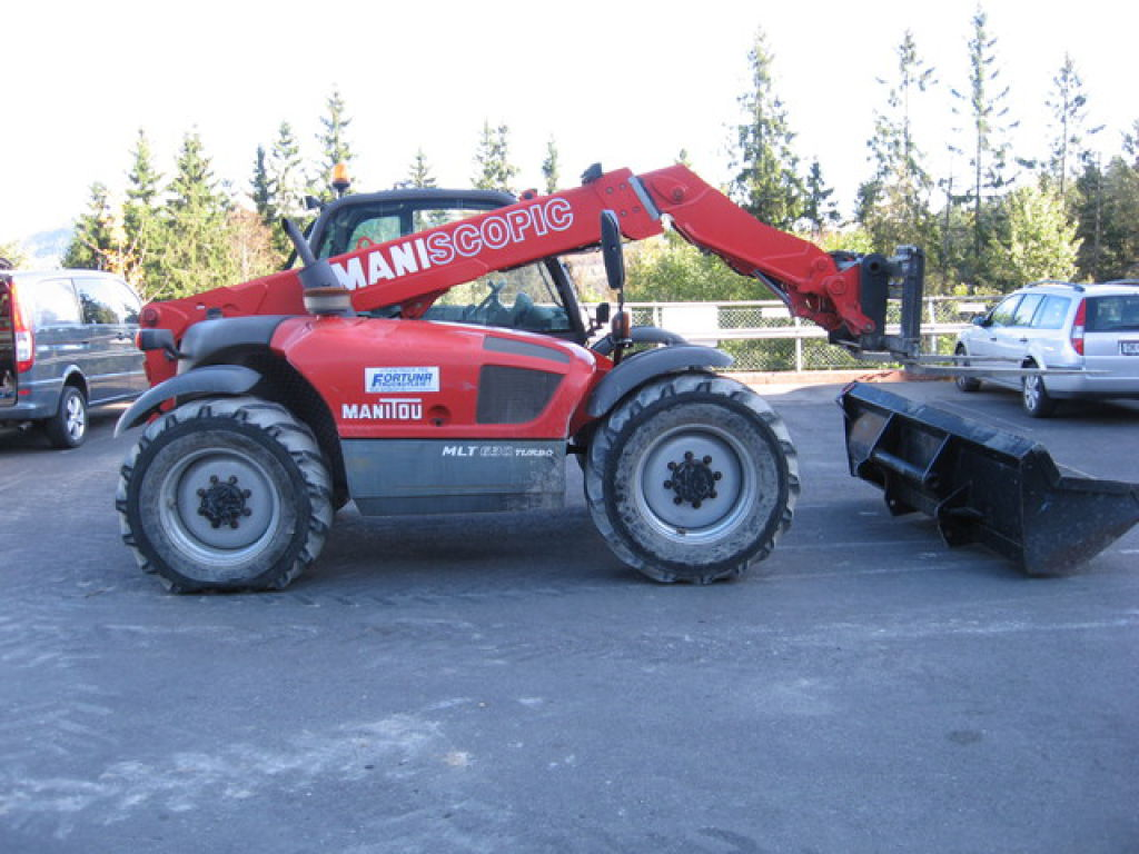 Diesel Truck For Sale >> Manitu MLT 630 turbo Telescoptruck for sale. Retrade offers used machines, vehicles, equipment ...