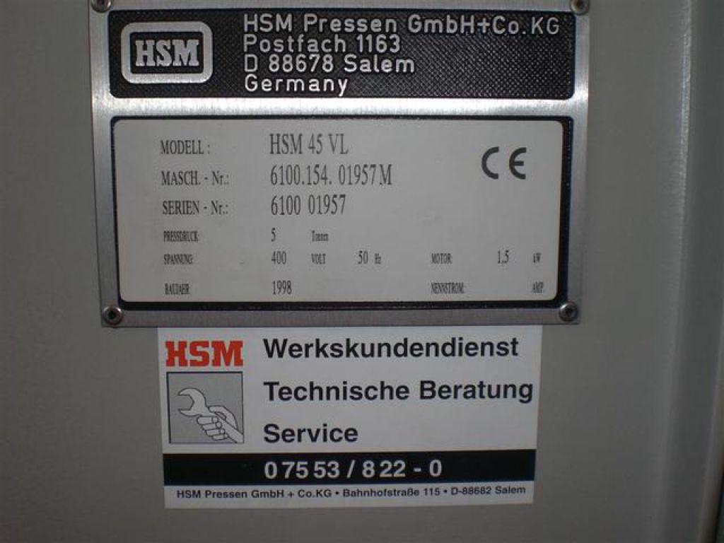 hsm pressen