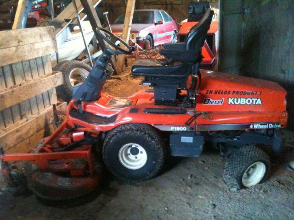 Omtyckta Frontklippare Gräsklippare Åkbar gräsklippare Kubota F1900 4WD KT-83