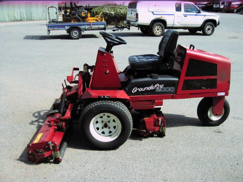 Fantastisk Åkgräsklippare Gräsklippare Åkbar gräsklippare Toro Grounds Pro FX-15