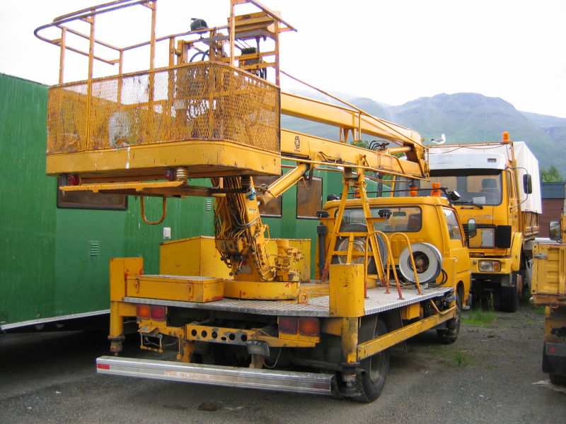 Nissan CABSTAR 610 Liftbil - 1