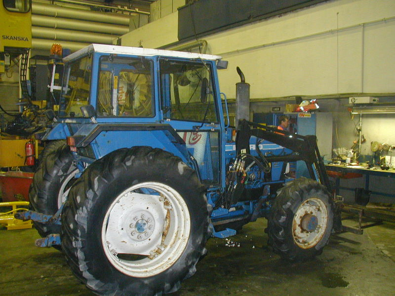 Traktor Ford 6610 Type EA415L. - 0