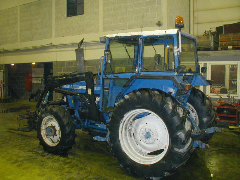 Traktor Ford 6610 Type EA415L. - 1