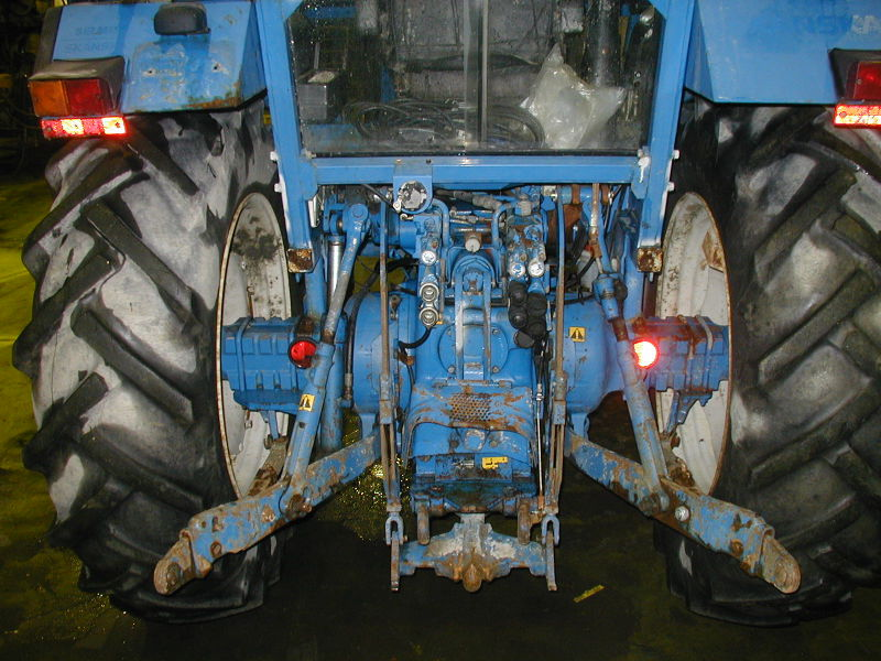 Traktor Ford 6610 Type EA415L. - 4