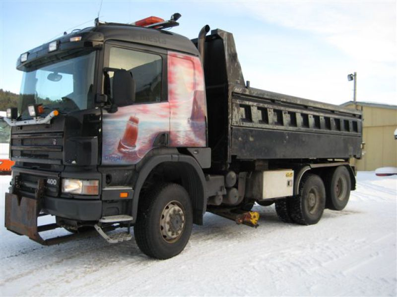Scania P124CB 4X4+2 HZ 400/ P124 - 0