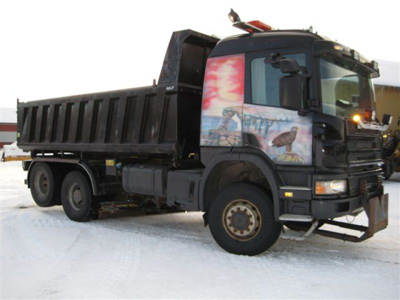 Scania P124CB 4X4+2 HZ 400/ P124 - 1
