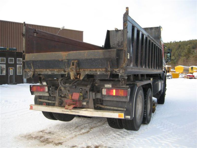 Scania P124CB 4X4+2 HZ 400/ P124 - 4