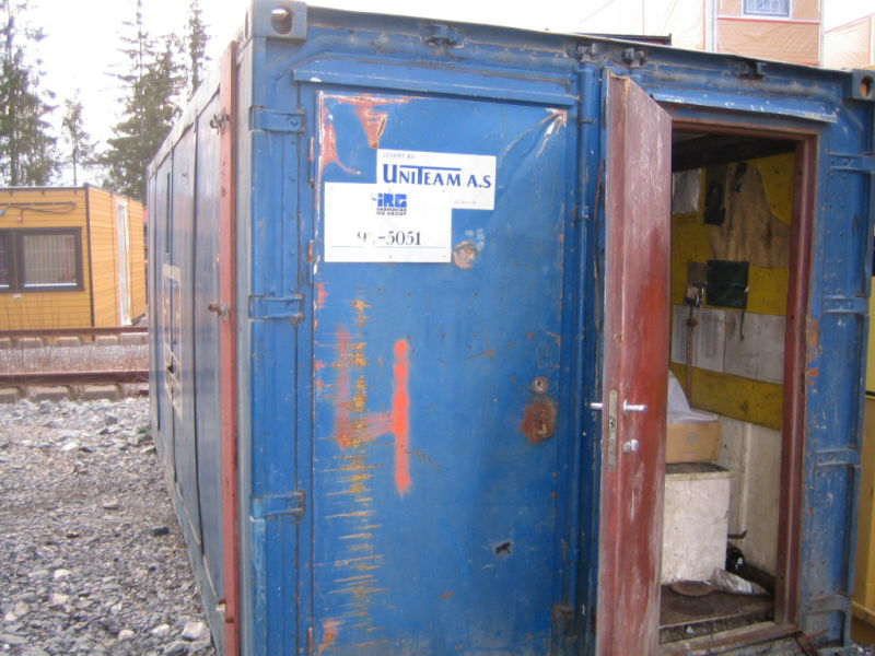Verksted-container - 4