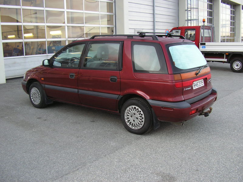Mitsubishi Space Wagon 4X4 - 1