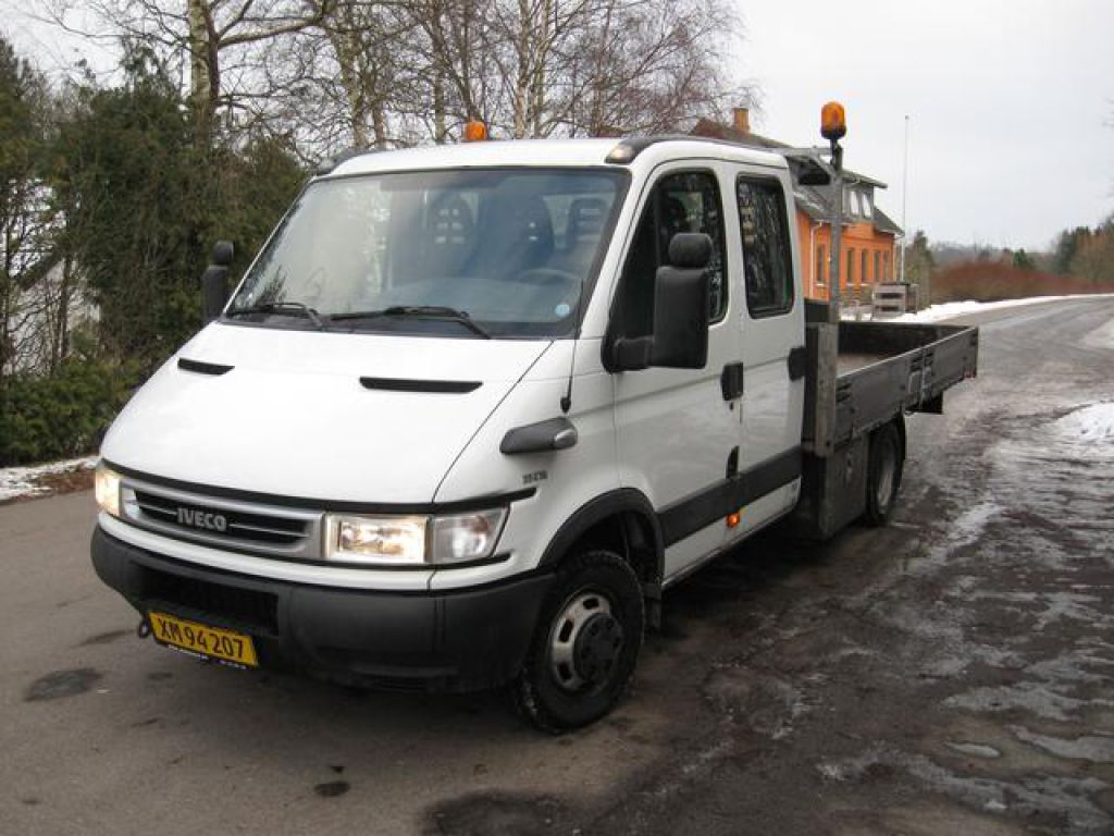 iveco daily 35c15 mandskabsbil for sale retrade offers used machines vehicles equipment and. Black Bedroom Furniture Sets. Home Design Ideas