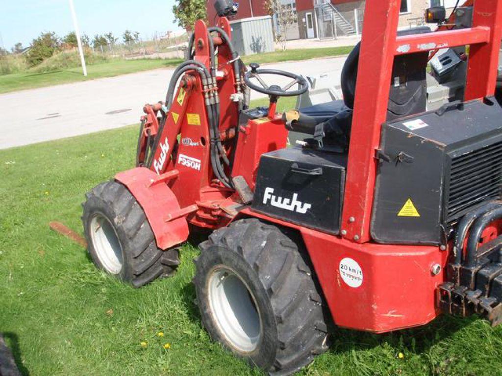 Fuchs 950h L950h Kn 230 Kstyret Mini L 230 Sser Skid Steer