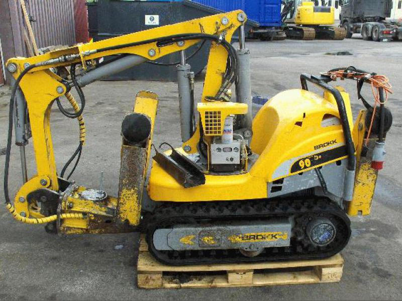 brokk demolition machine for sale