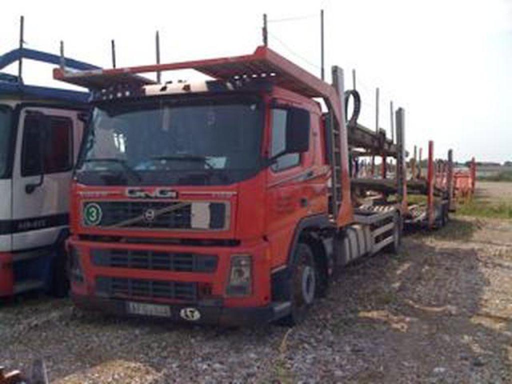 Volvo FM 9 + Car transport trailer for sale  Retrade offers