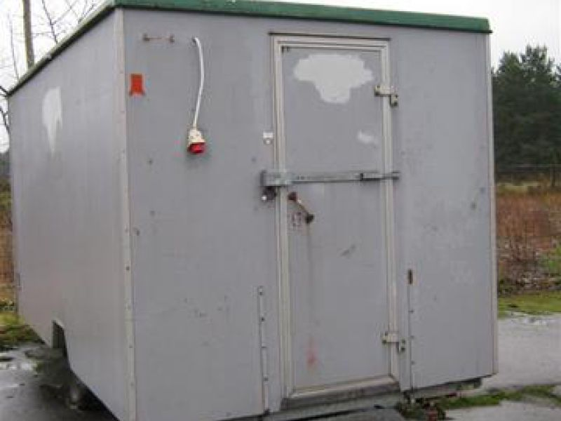 Trailer mounted site hut - 0