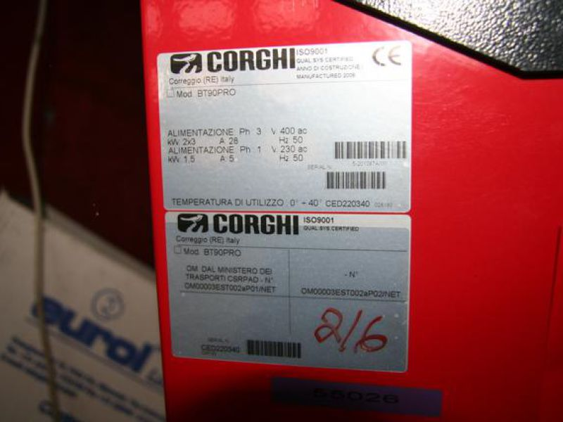CORGHI BT90 PRO car break and suspension system check stand - 1