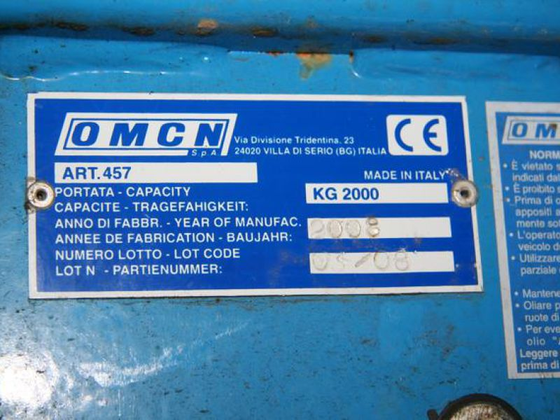 OMCN 457 car wheel lift - 1