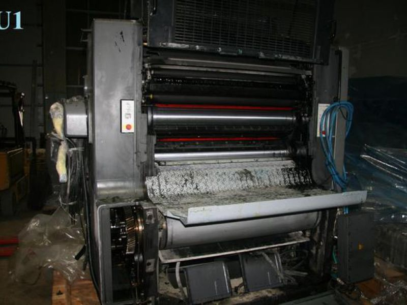HEIDELBERG SPEEDMASTER SM 102-5+L FIVE COLOUR PRINTING MACHINE - 1