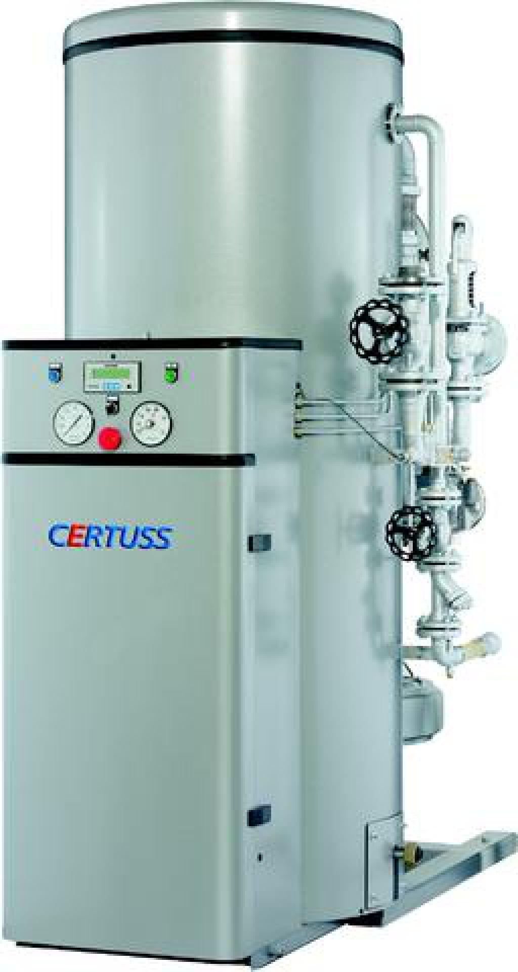 CERTUSS UNIVERSAL 1500 FG Steam generator for sale. Retrade offers ...