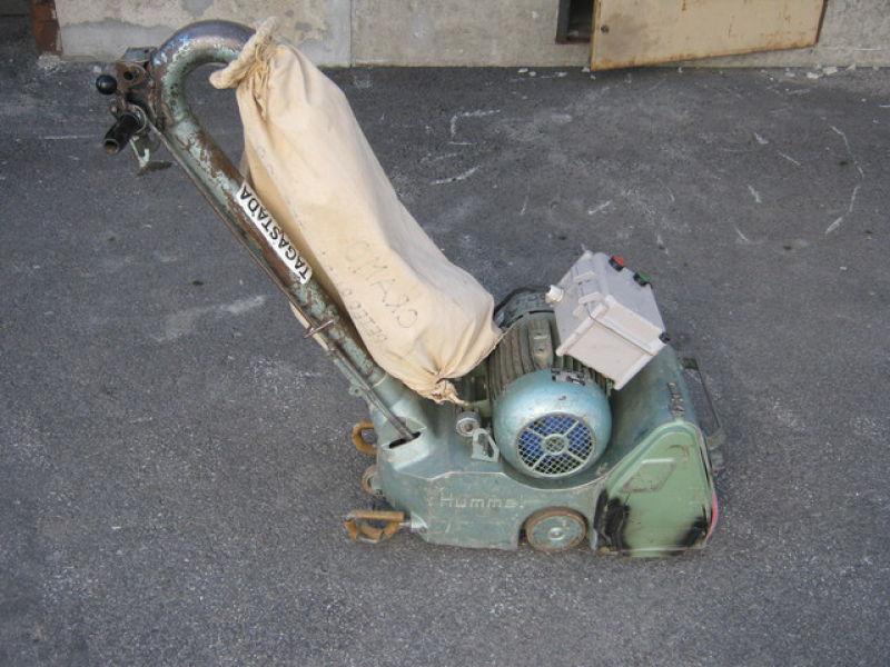 Used Wooden Floor Sander Lagler Hummel For Sale Retrade