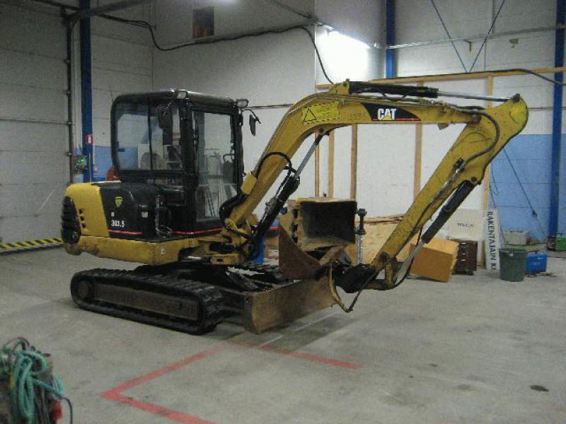 CAT 303,5 Minikaivinkone / Mini Excavator - 0