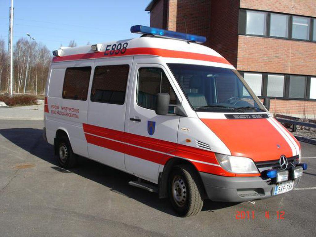 Mercedes-Benz 313 Sprinter 313 CDI / Ambulanssi / Sairasauto