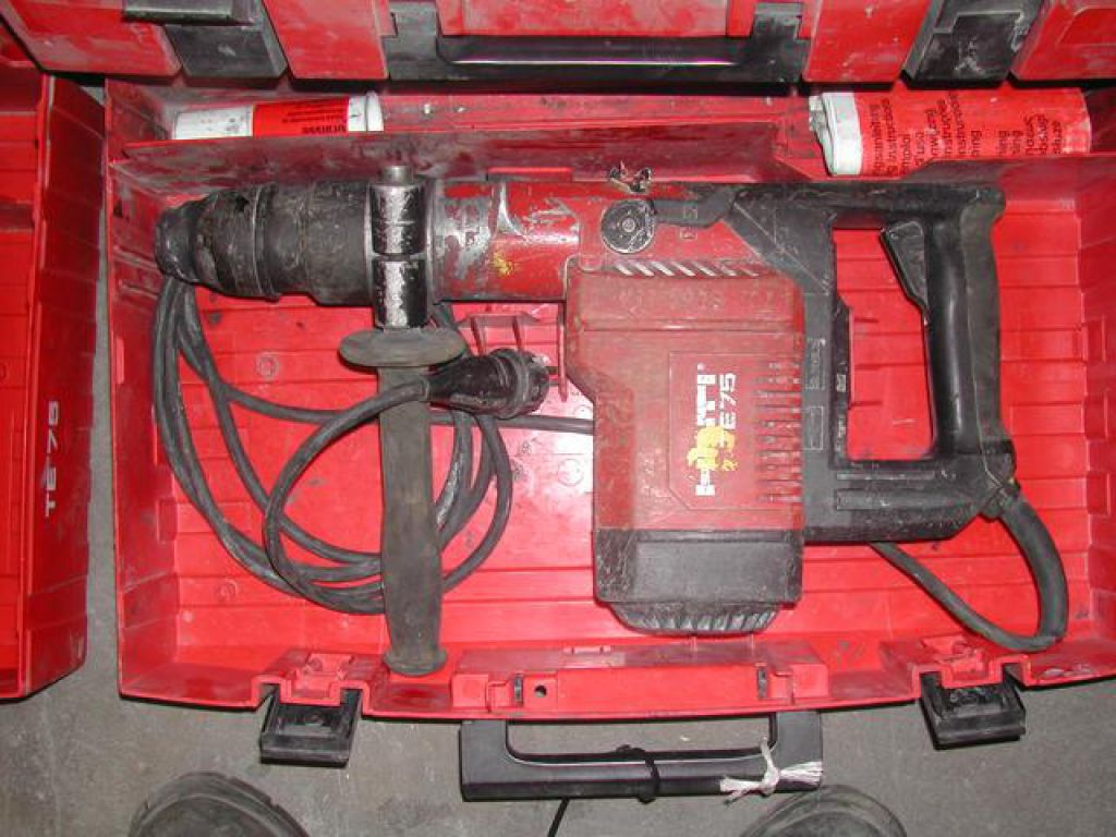 hilti te75 4stk samlet for sale retrade offers used machines vehicles equipment and surplus. Black Bedroom Furniture Sets. Home Design Ideas